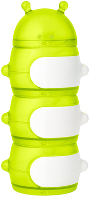 Boon - Caterpillar Snack Container - Green/White