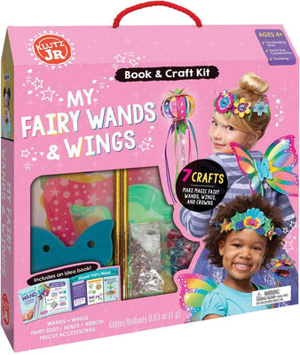 Klutz JR - My Fairy Wands & Wings
