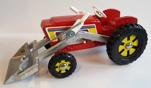 Fun Ho Toys - Tractor Front End loader - Red