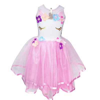 Pink Poppy - Unicorn Dress - Pale Pink