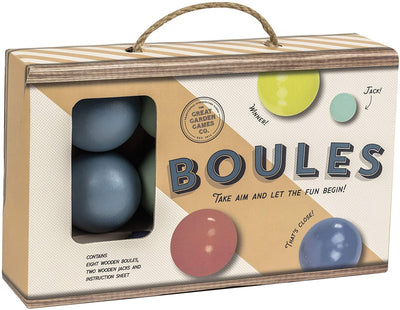Professor Puzzle -Garden Game - Wooden Boules