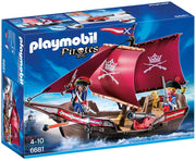 Playmobil - Pirates - Soldiers Cannon Boat - 6681