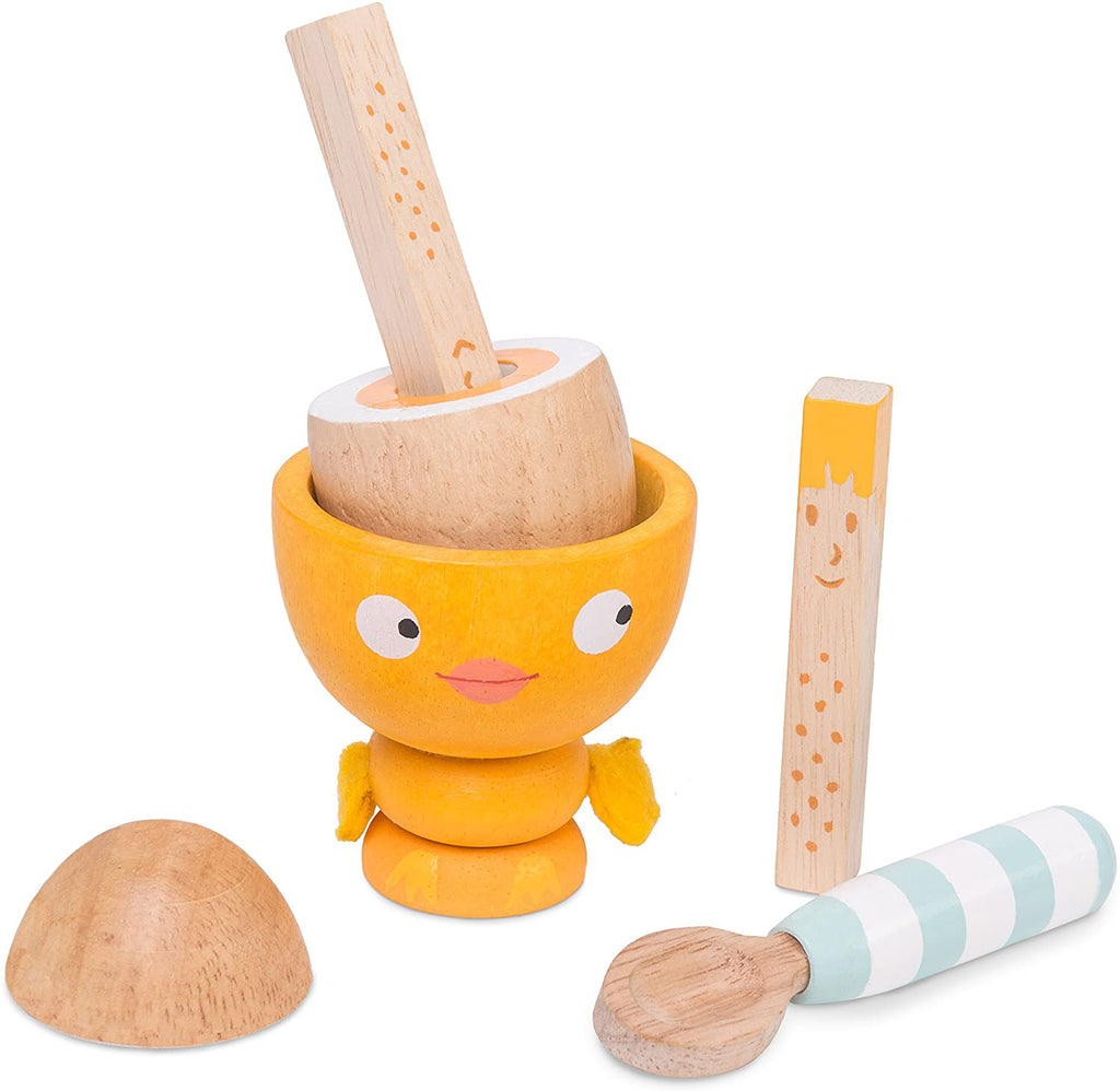 Le Toy Van - Honeybake - Chicky Chick Wooden Egg Cup Set