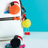 Klutz - Pom Pom Backpack Clips
