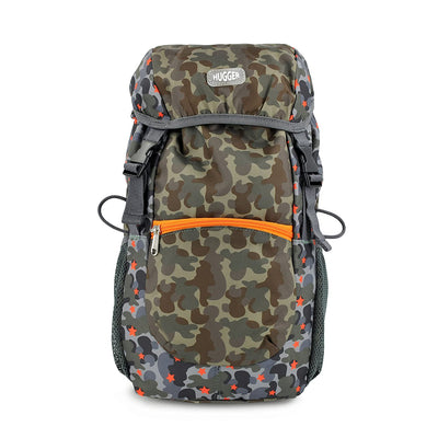Hugger Kids - Kiddy Hiker Backpack - Desert Star Camouflage