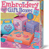 4M Craft - Embroidery Gift Boxes