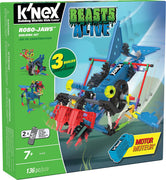 K'nex - Robo-Jaws Building Set - 135pc - Including Motor