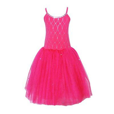 Pink Poppy - Paris Diva Glitter Dress - Hot Pink