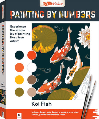 Hinkler - Painting By Numbers - Koi Fish