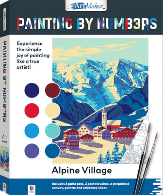 Hinkler - Painting By Numbers - Alpine Village
