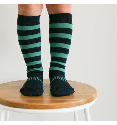 Lamington - Merino Wool Knee High Socks - Pier