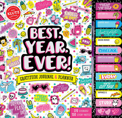 Klutz - Best Year Ever! Planner & Gratitude Journal