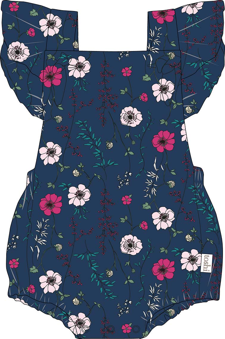 Toshi Baby Romper Willow