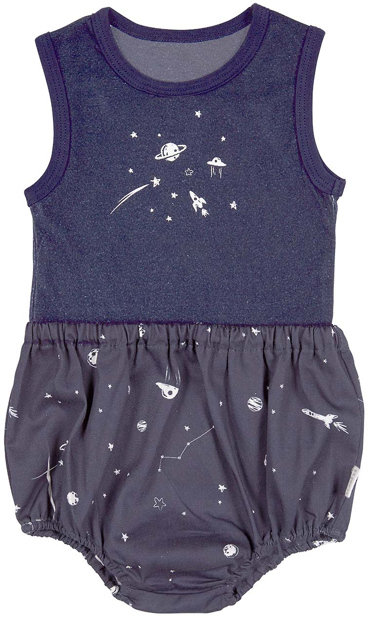 Toshi baby singlet & bloomers-intergalactic