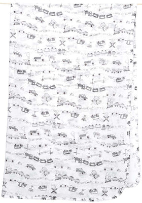 Toshi Muslin Wraps - Locomotion