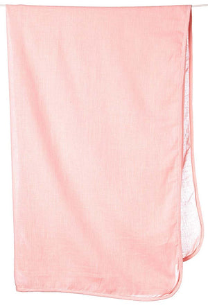 Toshi Muslin Wrap - Rose Plain