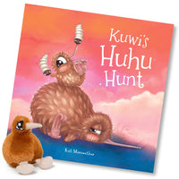 Kuwi The Kiwi - Kuwi's Huhu Hunt - By Kat Merewether