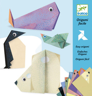 Djeco - Easy Origami - Polar Animals