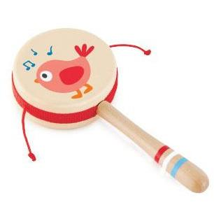 Hape - Drum Rattle - Twittering Bird