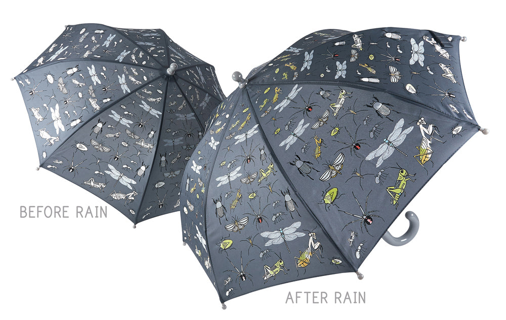 Floss & Rock - Colour Changing Umbrella - Bugs