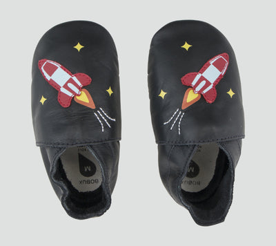 Bobux Soft Sole - Black Rocket