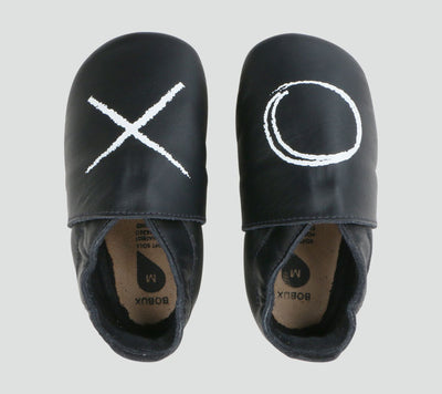 Bobux Soft Soles - Black XO