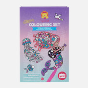 Toger tribe - Glitter Colouring Set