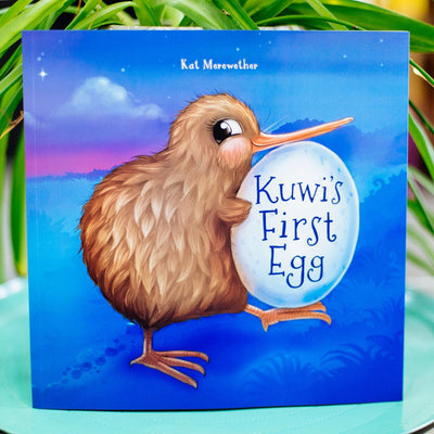 Kuwi The Kiwi - Kuwi's First Egg Hunt - By Kat Quinn