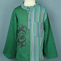 Split cotton kurta top