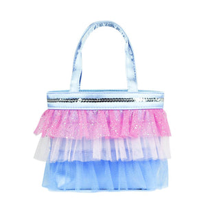 Pink Poppy - Tutu Cute Handbag - Blue