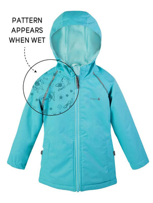THERM - Waterproof & Windproof SplashMagic Storm Jacket - Aquamarine