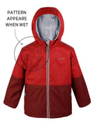THERM - Waterproof & Windproof SplashMagic Storm Jacket - Samba Red