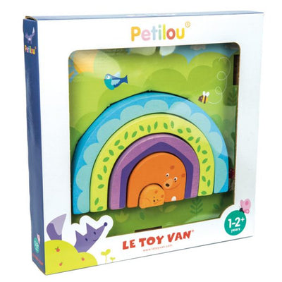 Le Toy Van - Petilou - Tunnel Puzzle Momma Bear