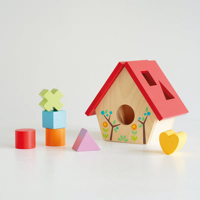 Le Toy Van - Petilou  - My Little Bird House Shape Sorter