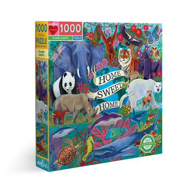 eeBoo - Planet Earth Jigsaw Puzzle - 1000pc