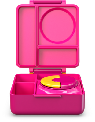 OmieLife - OmieBox Thermos Bento Lunchbox - Pink Berry