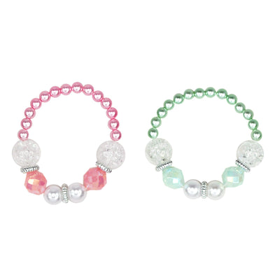 Pink Poppy - Vintage Pearl Bracelet - Assorted Colours