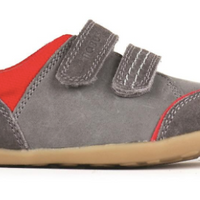Bobux Step-Up Smoke Slide Shoe - Grey