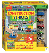 Hinkley Pull Back and Go Vehicles - Construction Kit