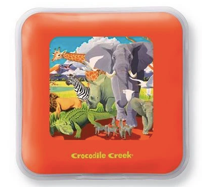 Crocodile Creek - Reusable Lunchbox Ice Pack - Safari