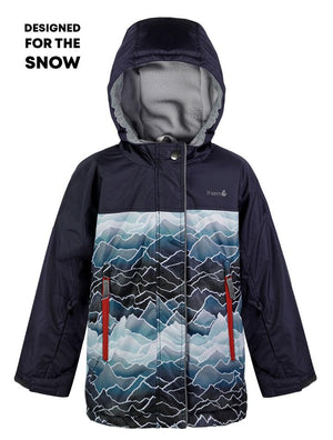 THERM - Waterproof & Windproof Snowrider Ski Jacket - Mountains