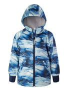 THERM All-Weather Hoodie - Blue Wave | Waterproof Windproof Eco