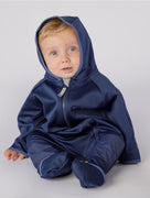 THERM CosyDri Onesie - Navy | Waterproof Windproof Eco