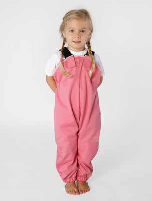 THERM CosyDri Overalls - Camellia Pink | Waterproof Windproof Eco