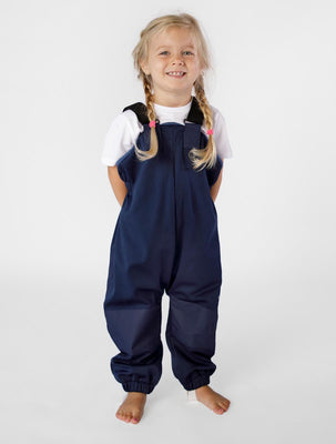 THERM CosyDri Overalls - Navy | Waterproof Windproof Eco
