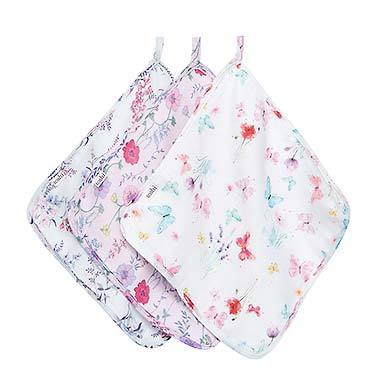 Toshi Muslin Baby Washcloth - Lucille - 3pc