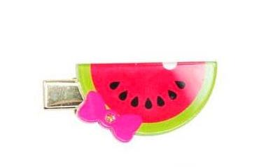 Pink Poppy - Sweet Red Watermelon Hairclip