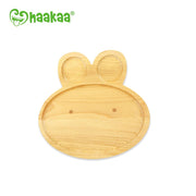 Haakka - Natural Wood Plate - Bunny
