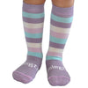 Lamington - Merino Wool Knee High Socks - Macaroon