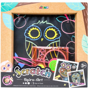 Avenir - Photo Frame - Scratch Spiro Art - Owl